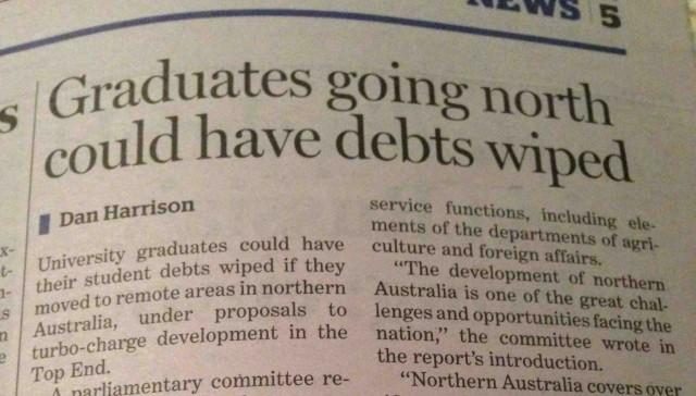 Page 5, Sydney Morning Herald, 05.09.2014